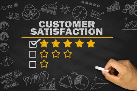 Customer-satisfaction-rating
